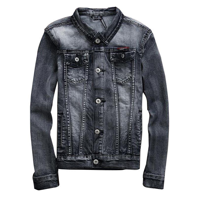 Popular Mens Gray Denim Jacket-Buy Cheap Mens Gray Denim Jacket