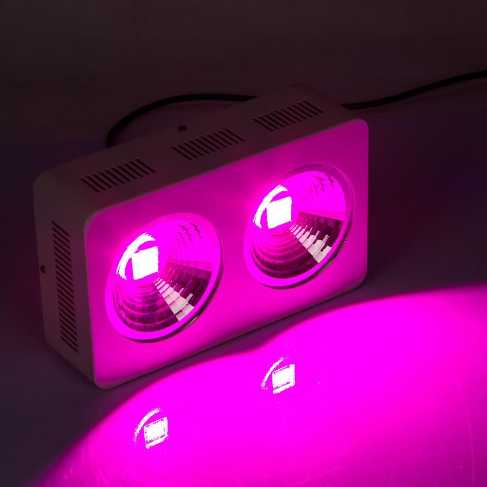 free shipping high power 400w cob led grow light full. Black Bedroom Furniture Sets. Home Design Ideas