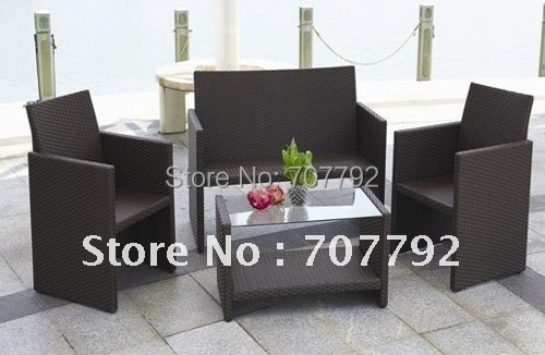 Creative synthetic rattan outdoor furniture(China (Mainland))