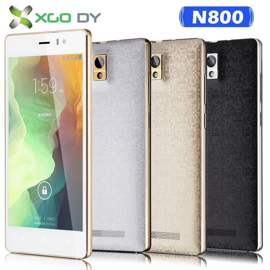 "Xgody N800 QHD 5"" Unlocked 3G For AT&T Tmobile Cell Phones Unlocked 5"" Android Dual core 2 SIM Android Smart phones(China (Mainland))"