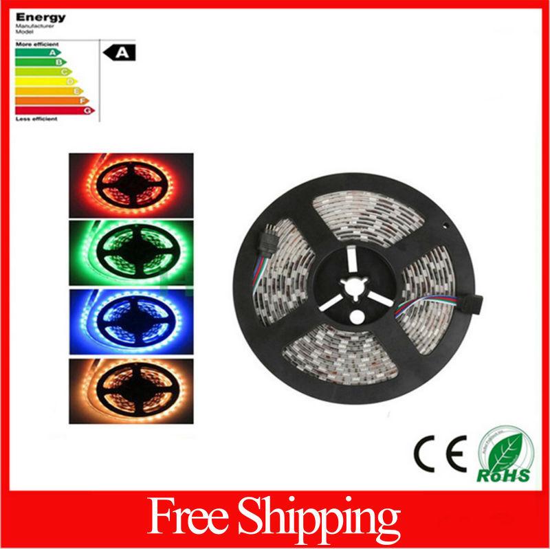 25050 led strip lights rgb waterproof ip65 60leds/m rgb/w/r/g/y/ww ce rohs - SK Co., Ltd. store