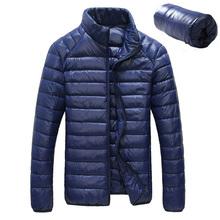 2016 New Ultralight Men 90% White Duck Down Jacket Winter Outdoor Sport Duck Down Coat Waterproof Down Parkas Outerwear E46(China (Mainland))