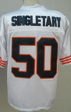 Lower Price William Perry Jim McMahon WALTER PAYTON Gale Sayers Mike Singletary Dick Butkus Men's Throwback Jersey(China (Mainland))