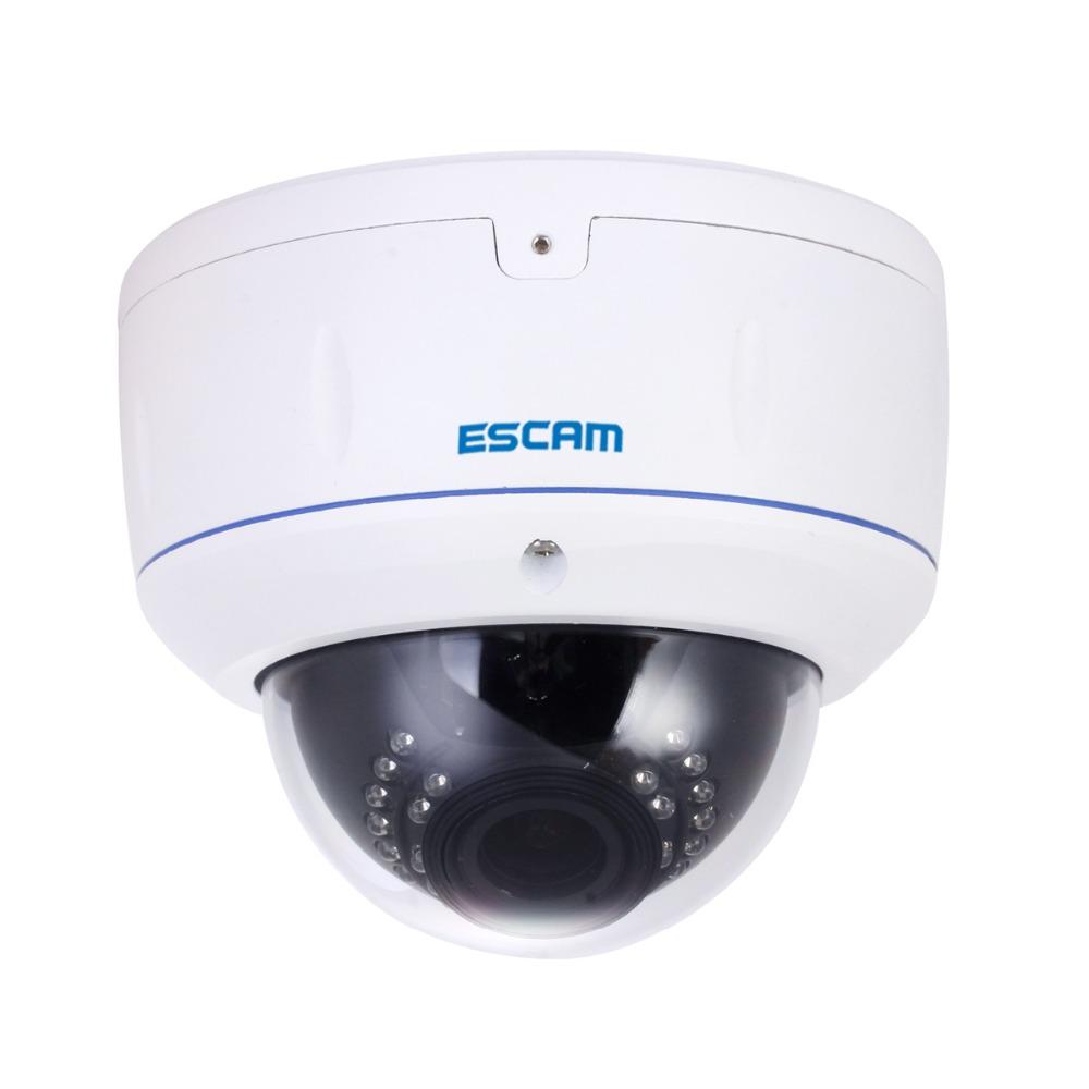 "ESCAM HD3500V Full HD 1080P 1/3"" CMOS 2.8-12mm Varifocal lens IR distance 15M Night Vision Onvif Waterproof Network IP Camera(China (Mainland))"