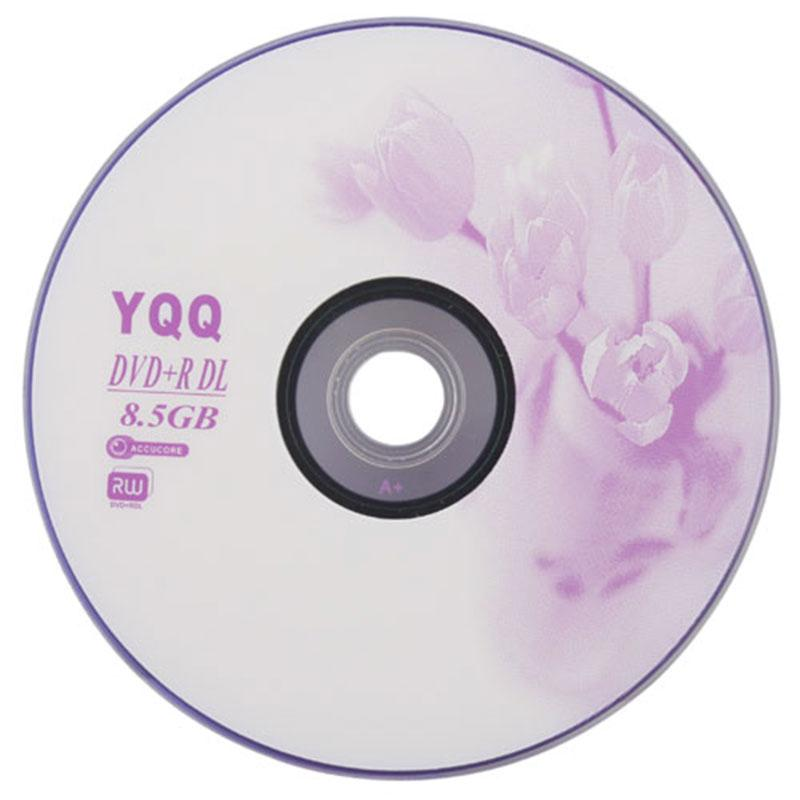 5Pcs New 8X Blank Recordable Printable DVD-R DVDR Blank Disc Disk 8X Media 8.5GB #10407(China (Mainland))