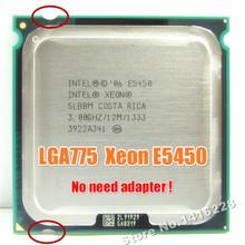 Fonctionne sur LGA 775 carte mère non besoin d' adaptateur Intel Xeon E5450 processeur ( 3.0 GHz / 12 M / 1333 ) près de LGA775 Core 2 Quad Q9650 cpu(China (Mainland))