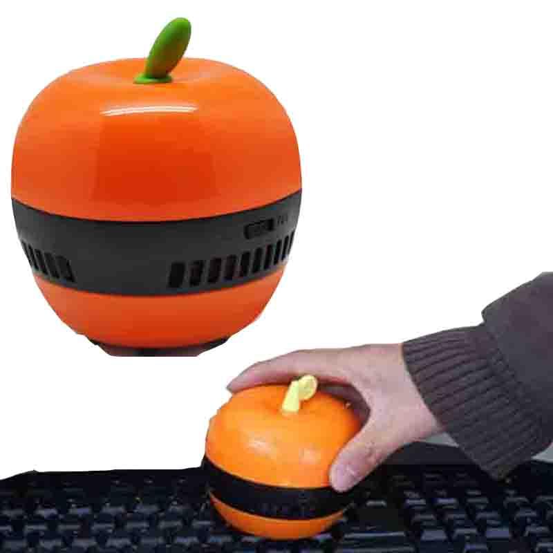 Mini home Handheld vacuum cleaner desk cleaner Apple mini desktop dust collector Desktop Cleaner Household Cleaning Tool Brushes(China (Mainland))