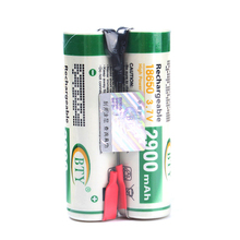 BTY 3.7V 18650 2900mAh Rechargeable Li-ion Battery with Tab 2PCS #72091