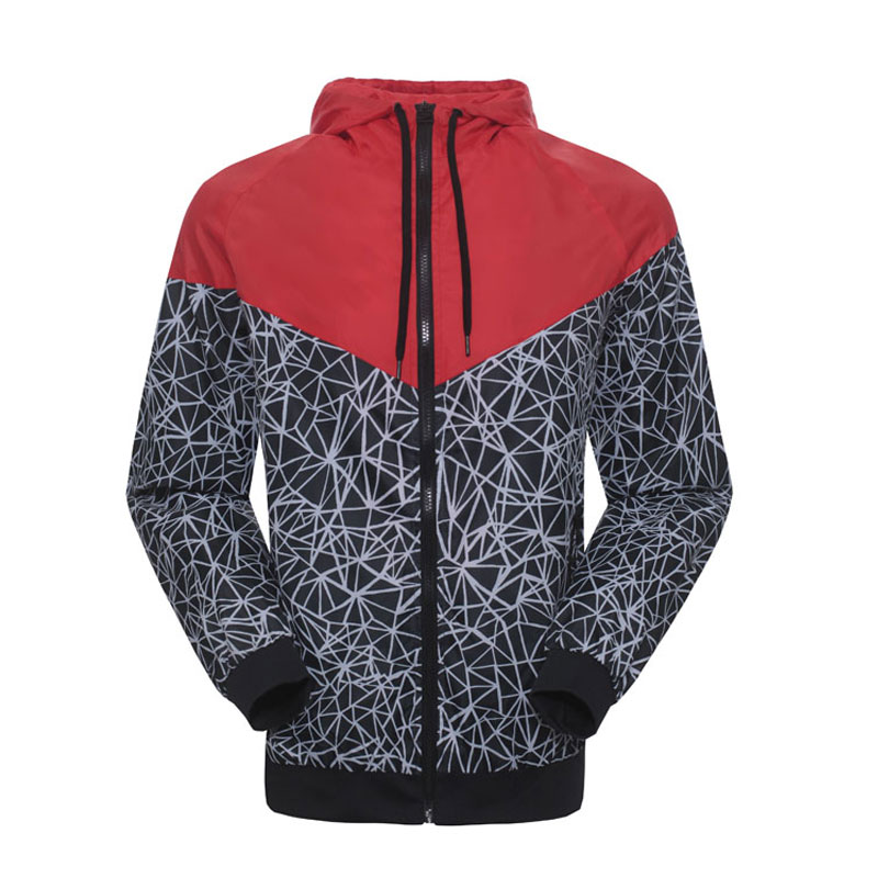 Spring And Fall new mens sports jacket hooded jacket Men casual Fashion Thin Windbreaker Zipper Coats Free ShippingОдежда и ак�е��уары<br><br><br>Aliexpress