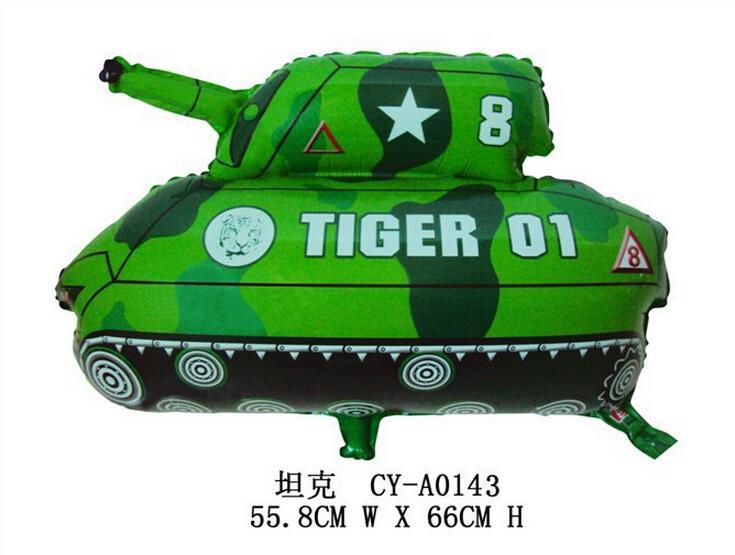 Helium balloon children's toy aluminum film balloon - tank(China (Mainland))