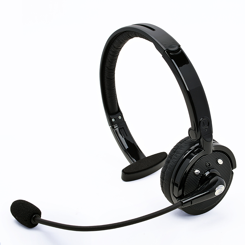 Music Bluetooth Business On Ear Headset Headwearing Wireless Headphones With Mic For Smartphone