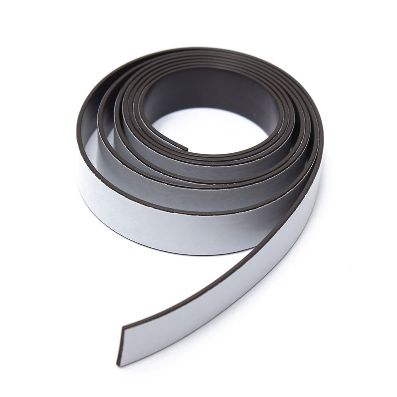1M  12.5 X 1.1mm Self Adhesive Flexible Magnetic Strip Tape Strong Magnet Tapes So Powerful that Hard to apart away<br><br>Aliexpress