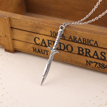 LOTR The Hobbit Bilbo Baggins Sword Sting The Lord Of The Rings Necklace Gift