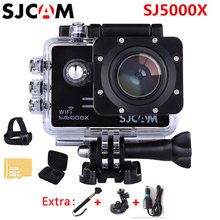 Buy SJCAM SJ5000X Elite 4K Action Camera 1080p Wifi 2K 30fps Gyro Sports DV LCD Diving 30m Waterproof Helmet Sport Action Camera 4K for $125.99 in AliExpress store