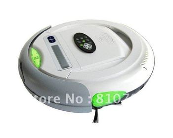 Cleanmate QQ-2L,3 In 1 Multifunctional Auto Floor Cleaner(Auto Vacuum,Sterilize,Air Flavor),LCD Screen