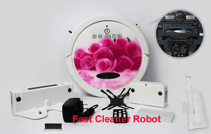 Newest Coming WIFI Smartphone App Control Wet And Dry Mop Together Cordless Vacuum Cleaner Robot With 150ml Water Tank