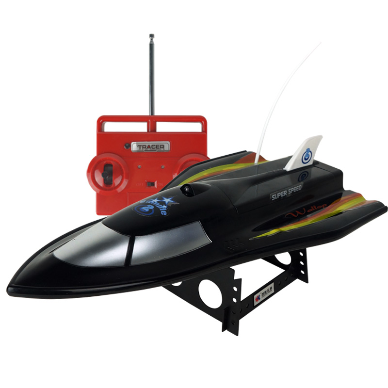CT3362 Large Remote Control Boats 3CH High Powered 7.2V Toy Boat Plastic Model RC Flying Fish No.Outdoor Toys