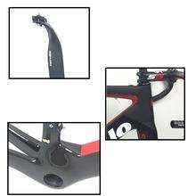 T1000 full carbon fiber bicycle frame with Brake+Stem+Handlebar+free shipping 10 Colors Choice 2017 Carbon Frame Road Bike(China (Mainland))