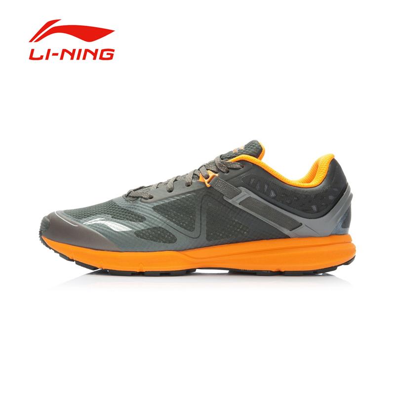 Li-Ning Men's Breathable Hiking Running Shoes Anti-Slip Outdoor Mesh Sports Sneakers