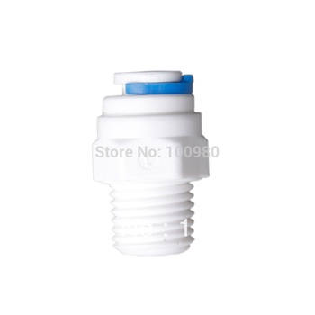 ST019 Male straight adapter quick connector water filter for water purifier system