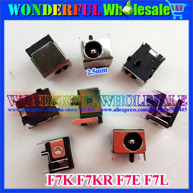 2.5mm LAPTOP DC  JACK Power Socket for ASUS F7K F7KR F7E F7L