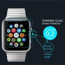 Ultra Thin 0.2mm Premium Explosion-Proof HD Tempered Glass Screen Protector Film for Apple watch 42MM With Retail Package