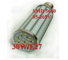 Ultra bright SMD 5630 85-265V 30W Led Corn light E27 E14 B22 3000LM LED bulb 360 degree Lighting Lamp, hot selling(China (Mainland))