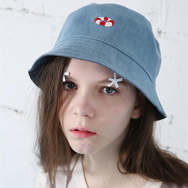 Хип-хоп кепка женщины осень 2015 новинка открытый поло лето сорняк шлем ведра боб ...