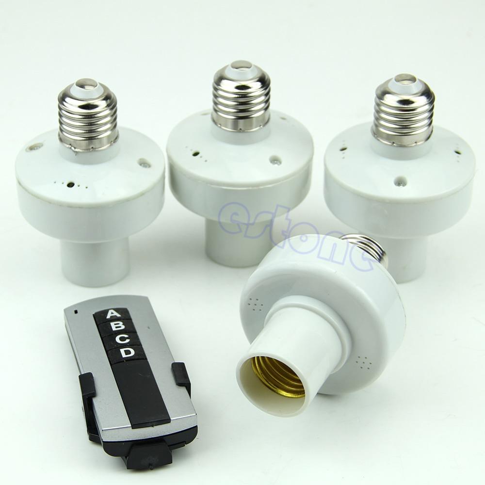 remote control light lamp bulb holder cap socket switch in remote. Black Bedroom Furniture Sets. Home Design Ideas