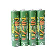 BPI AAA 1000mAh 1.6V 1.5V 4pcs/lot NI-Zn Battery Low self-discharge batteries high persistence rechargeable bateria  11440(China (Mainland))