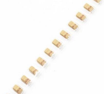 Гаджет  50PCS A 16V 10UF 106 3216 A SMD tantalum capacitor None Электронные компоненты и материалы