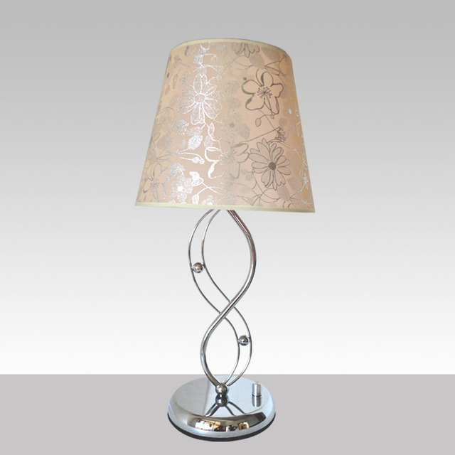 Table lamp fabric lighting bedside table lamp modern light source