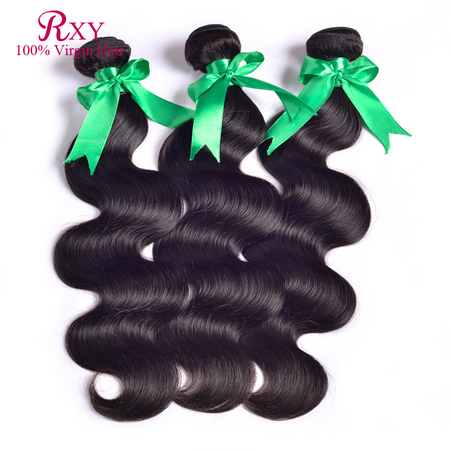 2016 New Sale Brazilian Virgin Hair 3 Bundles Body Wave Cheap Human Extensions Wet Wavy - Xuchang RXY Industrial & Trade CO.,ltd store