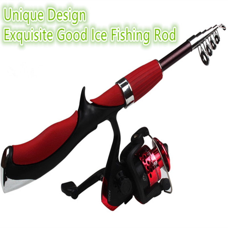 2015 New Sea Ice Fishing Rod Fishing Tackle Trade Parabolic Pole Rockies pesca carp fishing rods mini vara de pesca 625(China (Mainland))