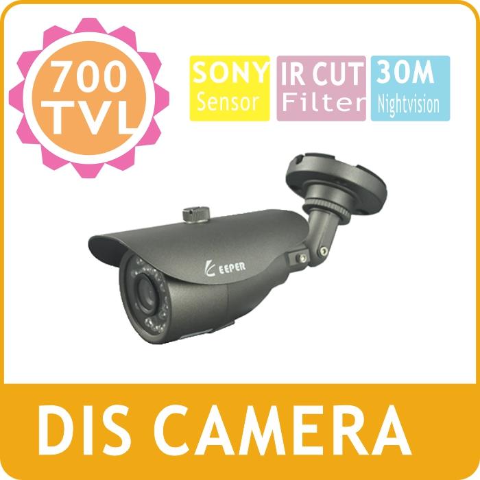 KEEPER 1/3 Sony Eiffo -E CCD 700TVL IR Bullet Outdoor Waterproof Varifocal Lens CCTV Camera  36pcs IR LEDS 30M Distance <br><br>Aliexpress