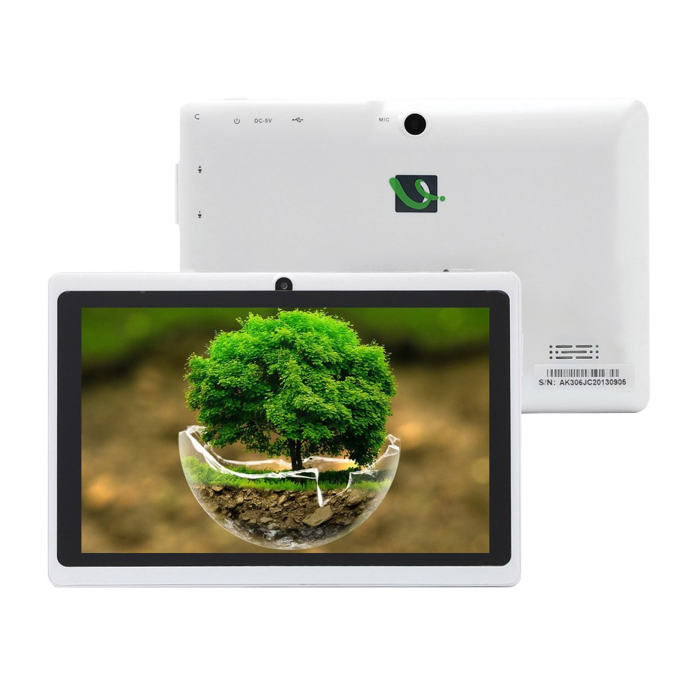 IRULU eXpro X1a 7 Tablet PC 8GB ROM Quad Core Android Tablet Dual Camera External 3G