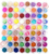 72 Pots 6 Kinds Colorful Nail Art Glitter Powder Decoration Crush Shell Bead Free Shipping MF001