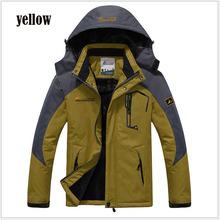 jaqueta masculina thick Outdoor sport jacket ,Winter Jacket Men, Windproof Hood parka mens jackets and coats outwear Windbreak(China (Mainland))