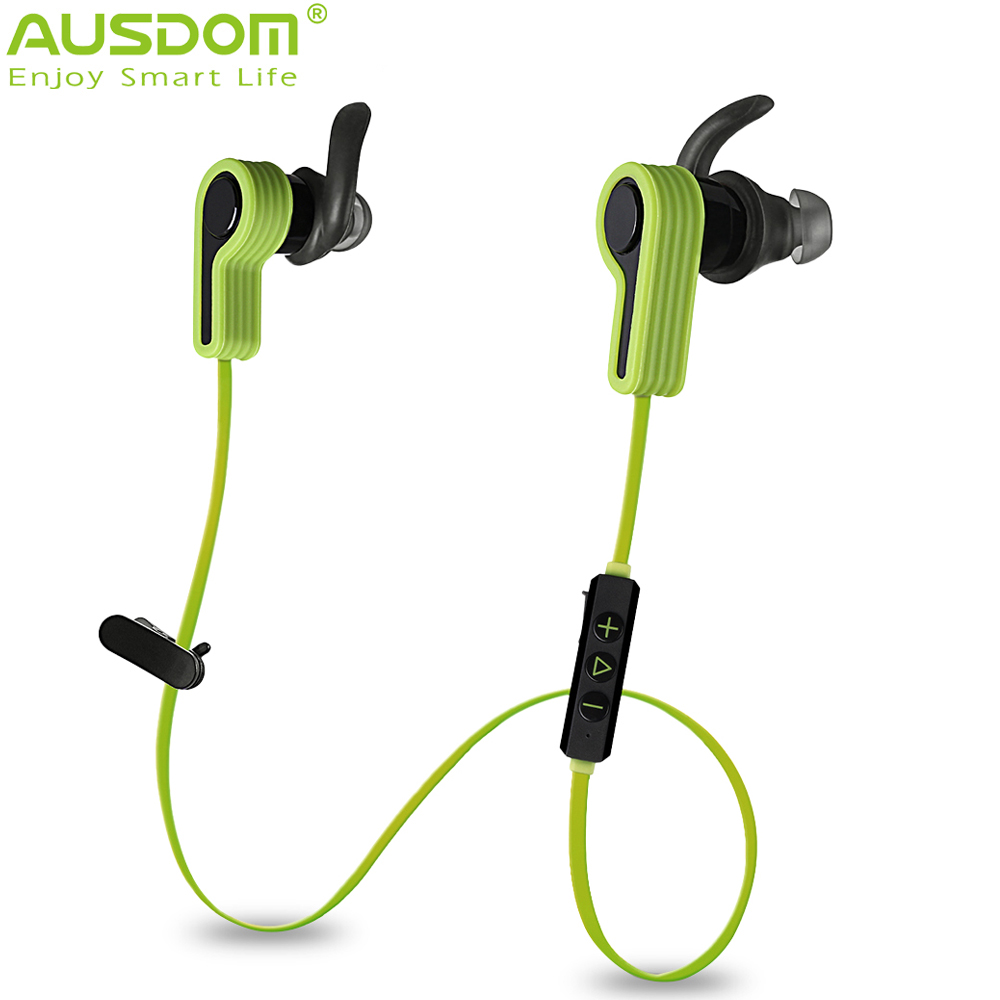 AUSDOM S940 In-ear Earphone Bluetooth V4.1 Wireless Stereo Handfree 2200H Standby Time High Quality Sound Music Partner(China (Mainland))
