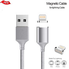 Buy Magnetic Cable Nylon Braided Micro USB Cable Data Charger Magnet Fast Charging Cable iPhone 5 5s 6 6s 7 7 Plus iPad 8 Pin for $5.79 in AliExpress store