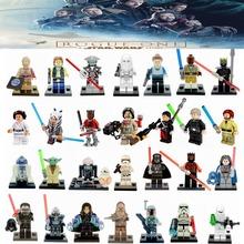 Single Minifigures Star Wars Rogue One Jawa luke skywalker Kylo Ren BB-8 Secura Building Block Models Starwars Toys For Children(China (Mainland))