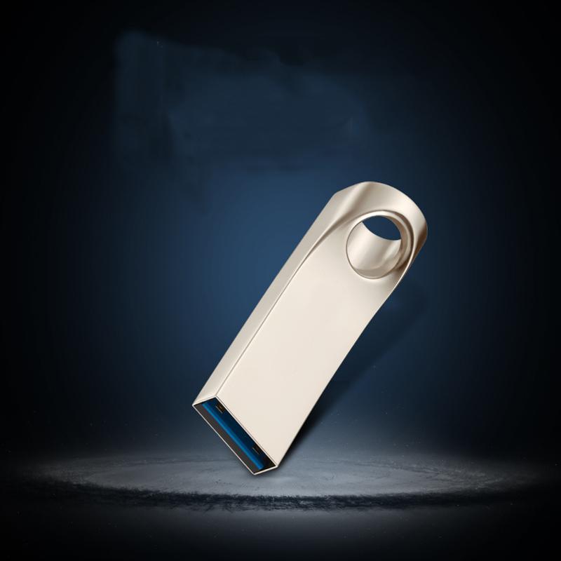 Full size usb 2.0 flash drives 64GB usb disk Waterproof Metal Drive Flash pen drive 32G pendrive16GB 8GB usb memory stick gift(China (Mainland))