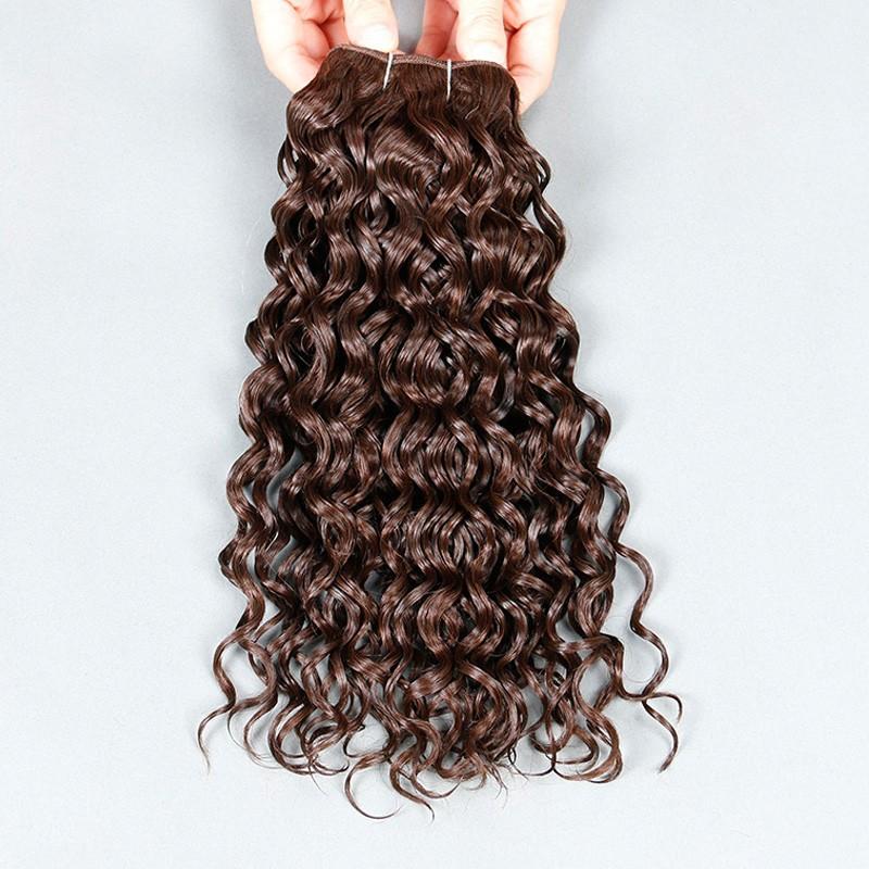 100 Human Hair Weave Sleek Mink Brazilian Hair Free Shipping Brazilian Hair Weave Bundles 8A Brazilian Water Wave