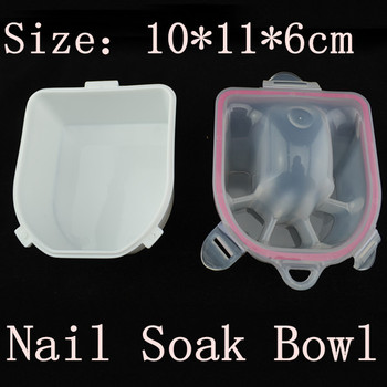 [ZPSW-003]High Quality Manicure Bowl Soak Finger Acrylic Tip Nail Soaker Treatment Remover Bowl Tool + Free Shipping