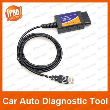 New V1.4 ELM327 OBD2 OBDII CAN-BUS Auto Diagnostic USB Interface Scanner Good Car Tool