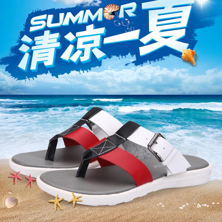 Summer Sandals Men rubber beach robber sole men summer shoes beach Handmade soft Full Grain Leather men solid flip flops LX037(China (Mainland))