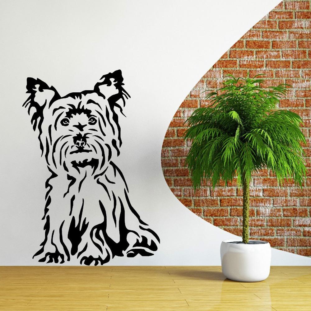 chien papier peint promotion achetez des chien papier peint promotionnels sur. Black Bedroom Furniture Sets. Home Design Ideas