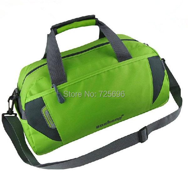 2016 New Waterproof Nylon Gym Bag Brand Travel Bags Men Shoulder Bags Quality Sports Bags Large Capacity HQB1515(China (Mainland))