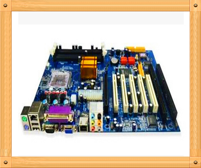 Free shipping The new 945GV motherboard 2IAS groove with two ISA slots 775-pin socket 2isa industrial tax board(China (Mainland))