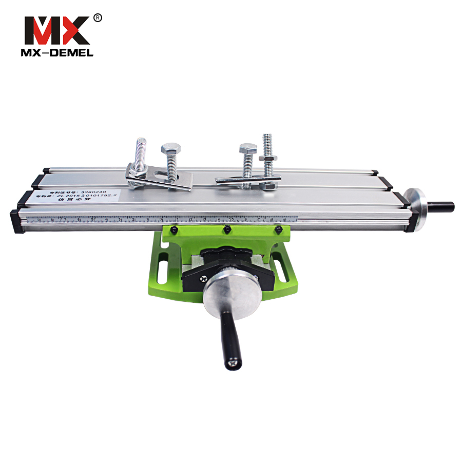 Miniature Precision Multifunction Milling Machine Table Drill Vise Fixture Worktable X Y-axis Adjustment Coordinate Table Bench(China (Mainland))